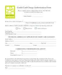 Credit Card On File Form Templates Company Credit Card Authorization Form Template In C Header