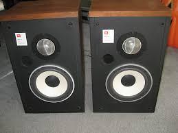 vintage jbl speakers. vintage jbl l-46 two way bookshelf speakers with new surrounds! jbl