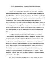 sociology study resources 5 pages photo essay example 1