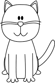 black and white cat clipart. Jpg Freeuse Stock Clip Art That Can Be Used As Picture Transparent Library Cat Clipart Black And White For