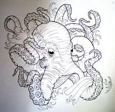 Small Picture Best 25 Octopus sketch ideas that you will like on Pinterest
