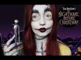 series nightmare before sally makeup