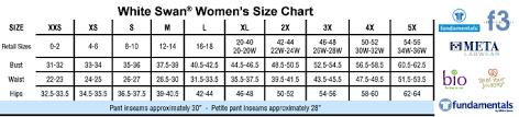 Dickies Size Chart Women S Pants 44 Credible White Coat Size Chart Women