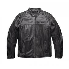 harley davidson midway leather riding jacket