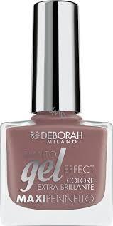 Deborah Milano Gel Effect Nail Enamel Gelový Lak Na Nehty 03 Nude Caramel 11 Ml