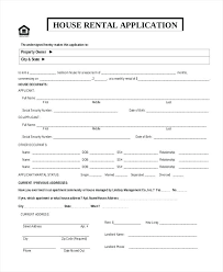 Sample Home Rental Agreement House Rental Agreement Form Template Printable Sample Real Estate ...