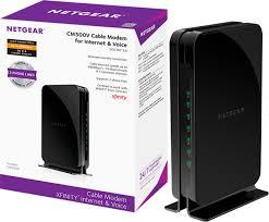 Netgear 16 X 4 Docsis 3 0 Cable Modem Black
