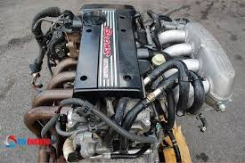 This is the JDM 3SGE BEAMS Engine. The horsepower of it is 200hp ...