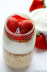 easy healthy strawberry overnight