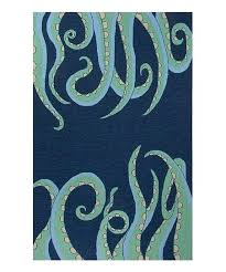 blue green coastal indoor outdoor rug rugs themed
