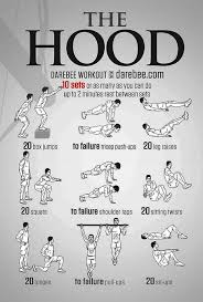 the hood workout bodyweight routine
