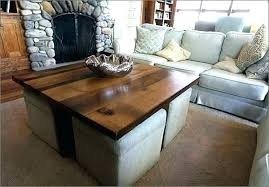 round coffee tables with seats coffee tables with seating underneath storage ottoman awesome table inside home