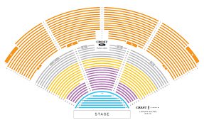 Verizon Theatre Seating Chart With Seat Numbers 11 Ageless Dte Energy Theater Seating