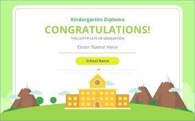 Word Origin Kindergarten Word Origin New Preschool Diploma Certificate Templates