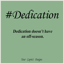 Dedication Word Of The Day Your Caprici Designs Crafts