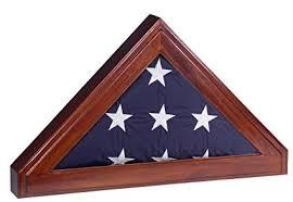 burial flag shadow box. Contemporary Shadow Display Case For Memorial Burial Flag 5x9 Flag  Shadow Box Throughout A