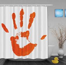 popular orange shower curtainbuy cheap orange shower curtain lots