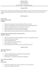 Sample Resume High School Student Enchanting Resume Templates For High School Graduates Resume Template High