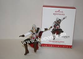 Hallmark 2016 Ezio Auditore da Firenze Ornament Assassins Creed ...