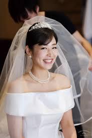 先輩花嫁モデル事例ヘッドドレス別花嫁のヘアスタイルティアラ編