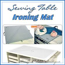 BonEful Sewing Ironing Mat 4 Table Machine Board Craft Fabric FQ ... & Image is loading BonEful-Sewing-Ironing-Mat-4-Table-Machine-Board- Adamdwight.com