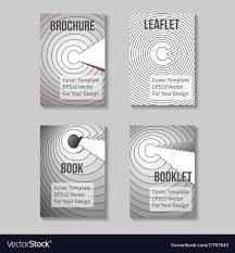 Book Report Cover Page Template Book Title Page Template Business Report Cover Vector Image 19