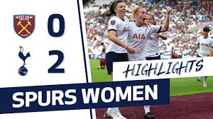 HIGHLIGHTS | WEST HAM 0-2 SPURS WOMEN