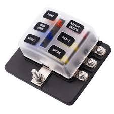 led marine fuse box on wiring diagram 6 way blade fuse box block holder led indicator for 12v 24v car 2004 volvo xc90
