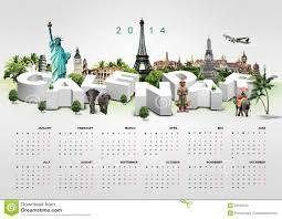Travel Calendar Calendar On Travel Background Stock Photo Image Of Airplane