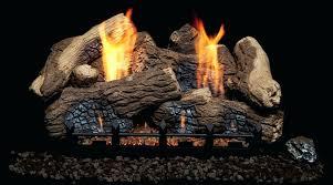 log sets for gas fireplaces oak fiber vent free gas long gas log sets for rumford