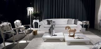 luxury oversized white sofa black and white modern living room contemporary living room