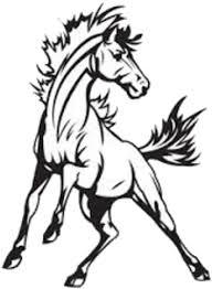 mustang logo black and white. Modren Mustang Clipart Royalty Free Stock Logo Drawing At Getdrawings Com For Throughout Mustang Black And White O