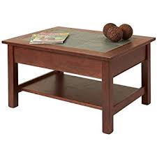 Slate top coffee table Vintage Childbearingyearresourcesinfo Slate Top Coffee Table With Shelf Amazoncouk Kitchen Home