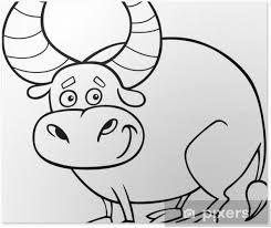 Poster Taurus Zodiac O Da Colorare Toro Pixers Viviamo Per Il