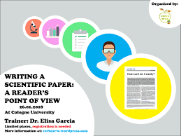Scientific Writing Writing A Scientific Paper A Reader Points Of View Cerfanrw