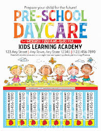 Free Printable Daycare Flyers Pre School Day Care Flyer Printable Child Care Small
