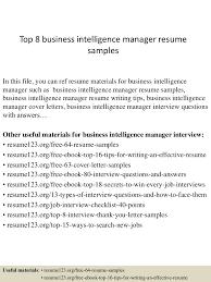 Bi Manager Resume Therpgmovie