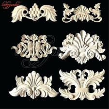 wood furniture appliques. Resin Furniture Appliques And Onlays For Flower Wood Carving Natural Decorative . I