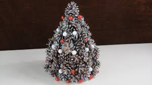 Weihnachten Deko Aus Tannenzapfen Tannenbaum Cristmas Tree Selber Basteln