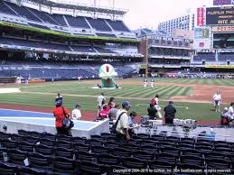 Petco Park Seating Chart Field Box Petco Park View From Infield 109 Vivid Seats