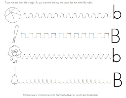 Free Pre K Letter Tracing Worksheets | Homeshealth.info