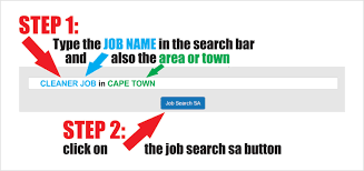 search and apply for jobs available in south africa search example