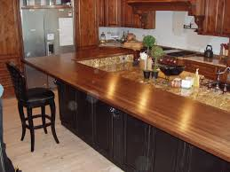 Wooden Kitchen Countertops Natural Wooden Kitchen Countertops For A Trendy Look Ideas 4 Homes