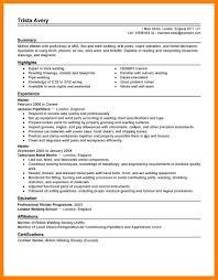 Welder Resume 100 Welding Resume Examples Quit Job Letter 73