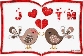 """Résultat de recherche d'images pour """"gif st valentin oiseaux"""""""