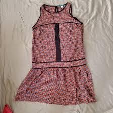Pim Larkin Dresses Modcloth Orange Aline Dress Poshmark