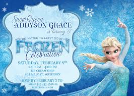 make your own frozen invitations free printable invites for every party wedding baby shower or