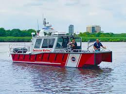 Marine Charts Are Primarily Used By Boaters For Which Purpose Secaucus Fd Puts Lake Assault Fireboat Into Service Marine Log