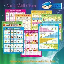 Preschool Wall Charts Preschool Learning Audio Wall Charts In Books From Office