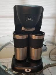 And you display your mug collection like a work of art. Amazon Com Melitta Me2tmb Take 2 Stainless Steel Travel Mug Coffeemaker Drip Coffeemakers Kitchen Dining